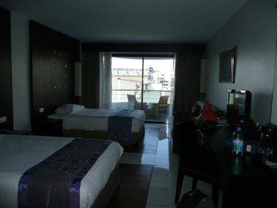 Hotel Tahiti Nui : Chambre