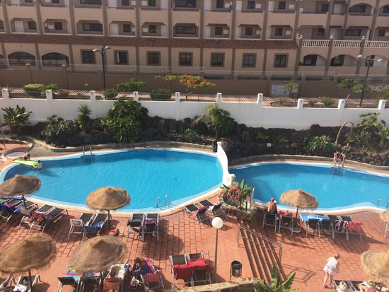 Marola Portosin: The view of the pool