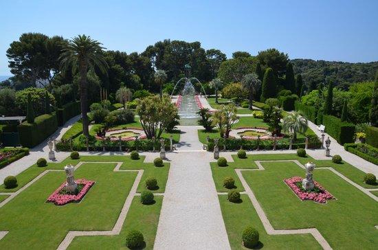 Villa & Jardins Ephrussi de Rothschild : Der Garten in Form e. Schiffsdecks