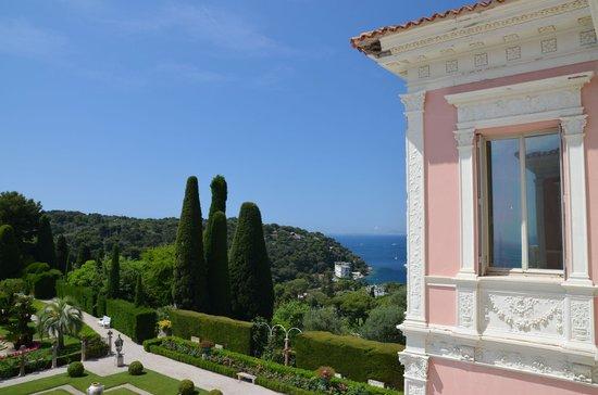 Villa & Jardins Ephrussi de Rothschild : Ausblick