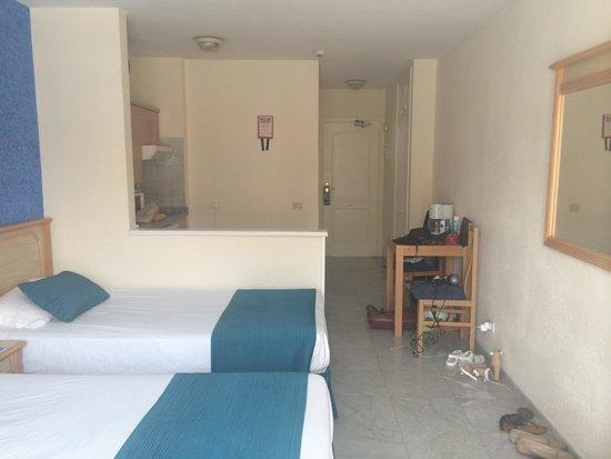 Marola Portosin: View of the room from the balcony