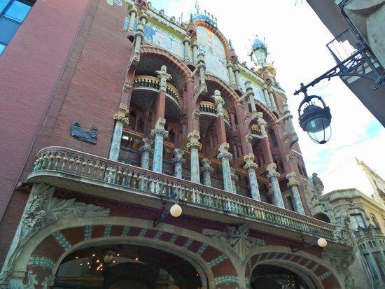 Palau de la Musica Orfeo Catala: Facciata 1