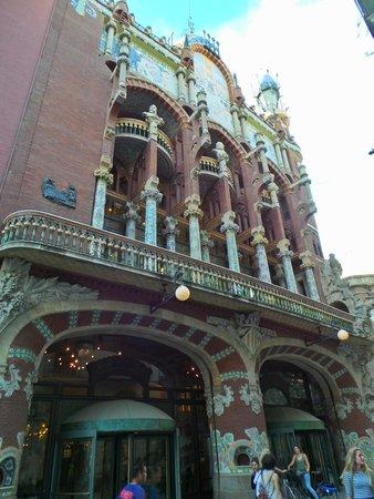 Palau de la Musica Orfeo Catala: Facciata 2
