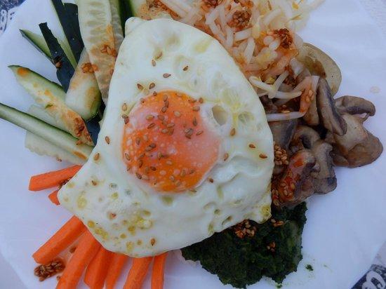 Hostel 33: Korean food for dinner