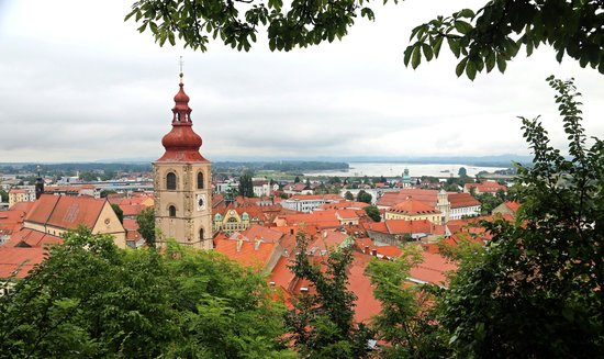 Rooms and Apartments Silak: View of Ptuj from Castle
