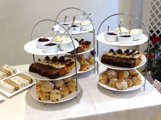 Alveston House Hotel: The afternoon cream tea