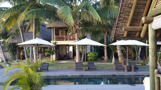 Le Sakoa Hotel : jardin