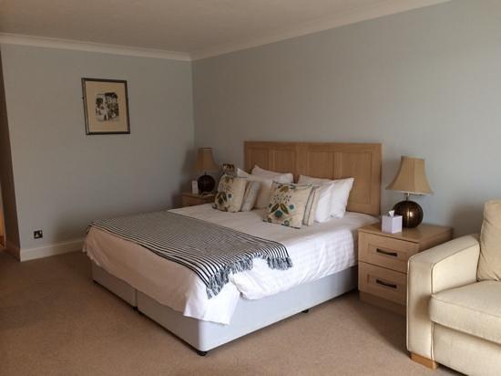 The Greenbank Hotel: my room...