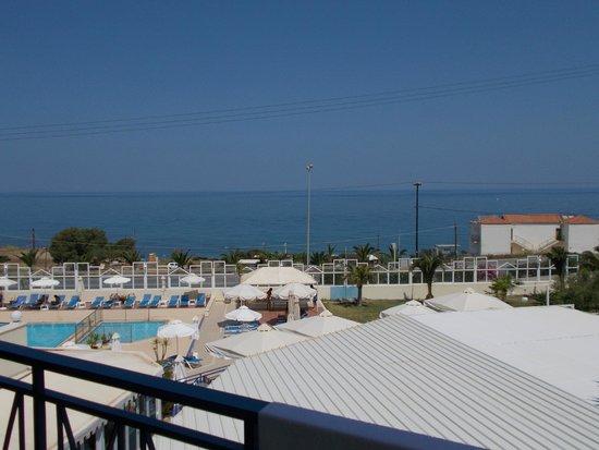 Hotel Rethymnon Mare : Utsikt från balkongen