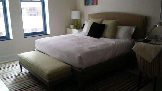 Cincinnatian Hotel: Comfy Beds