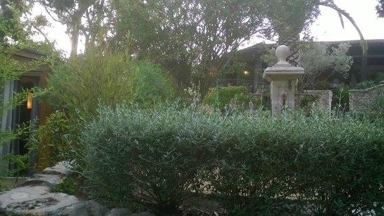 A Cheda: terrasse de la chambre