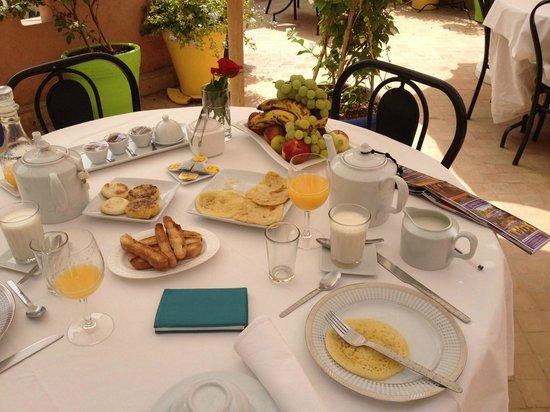 Riad Al Badia: Breakfast
