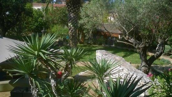 A Cheda: chambre vue depuis l'hôtel