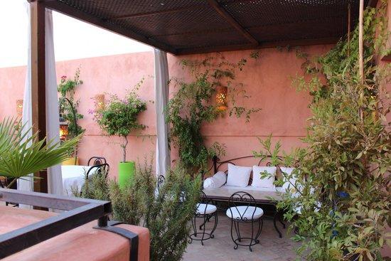 Riad Al Badia: Terrace