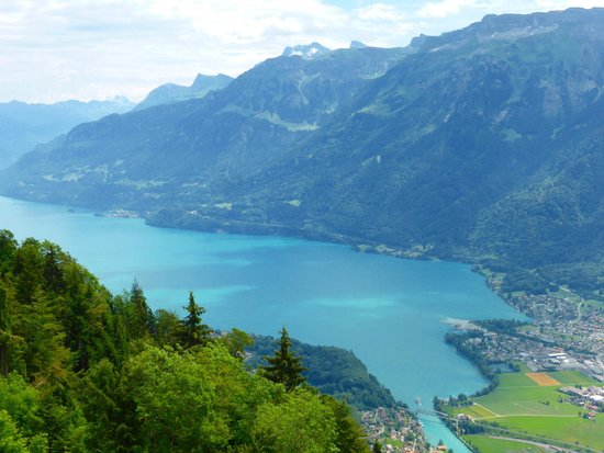 Harder Kulm: Lake Brienz