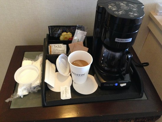 Westin Maui Resort And Spa: In room Kona coffee