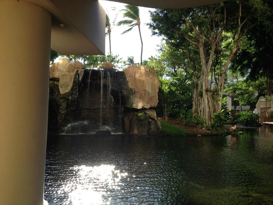 The Westin Maui Resort & Spa: Waterfall on grounds