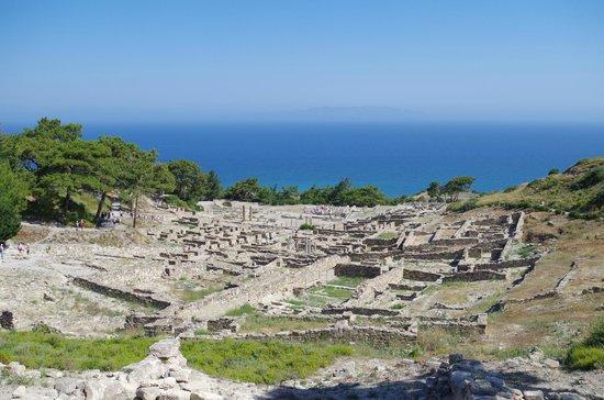 Ancient Kamiros: grandissimo sito archeologico