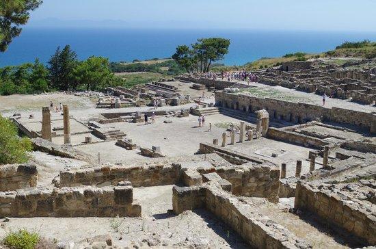 Ancient Kamiros: l'antica Kamiros