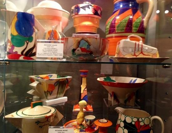 Kirkland Museum of Fine & Decorative Art: Clarice Cliff collection