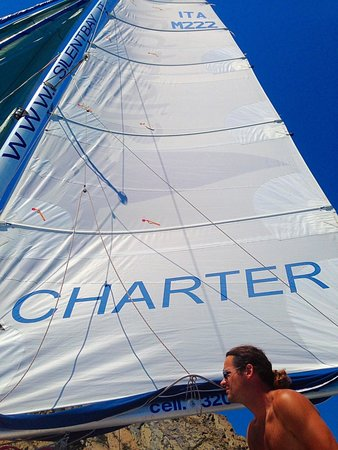 Silentbay Charter: Our captain for the day!