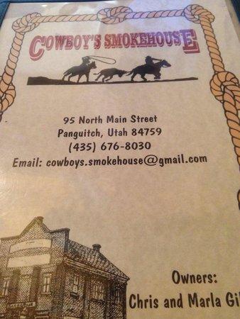Cowboy's Smoke House : Smokehouse Panguitch