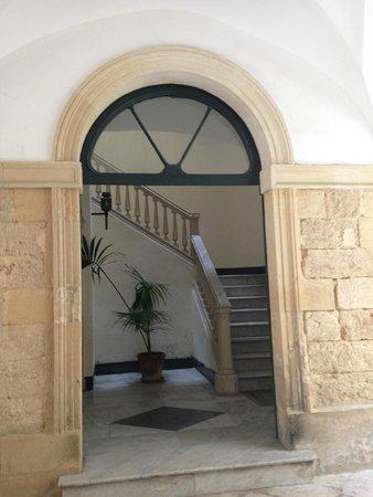 B&B Palazzo Bernardini : Entrance to reception