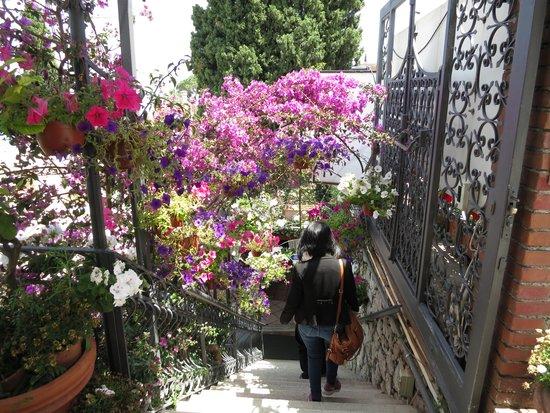 Ristorante Bella Blu: The entrance to the restaurant