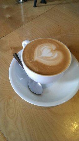 Evans Brothers Coffee: Vanilla latte