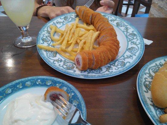 Restaurant Torres.: Flamen-king tamaño king size.