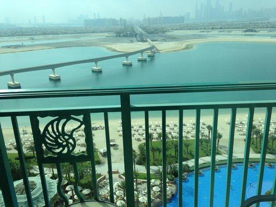 Atlantis, The Palm: Widok z balkonu