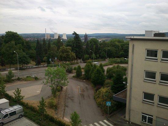 Leonardo Hotel Volklingen-Saarbrucken: Vue chambre 3eme etage