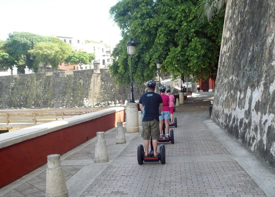Segway Tours of Puerto Rico: Outside city walls