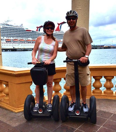 Segway Tours of Puerto Rico: Great for cruise stop excursion