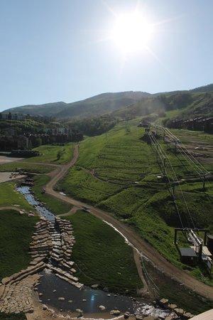 Sheraton Steamboat Resort Villas: view of slopes from villa