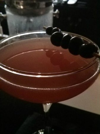 Bourbon Orleans Hotel: Blueberry cocktail