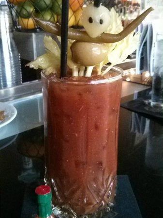 Bourbon Orleans Hotel: Bloody mary