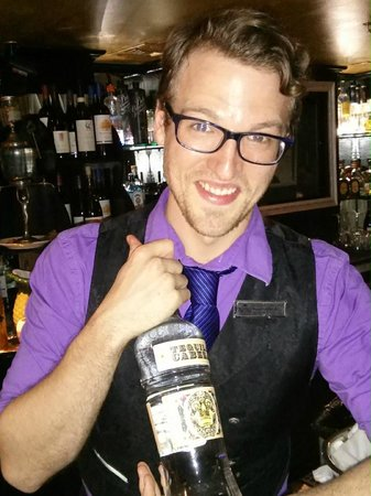 Bourbon Orleans Hotel: The man himself Steven............