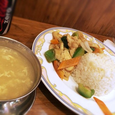 Yu Family Kitchen: Corn soup was also nice!