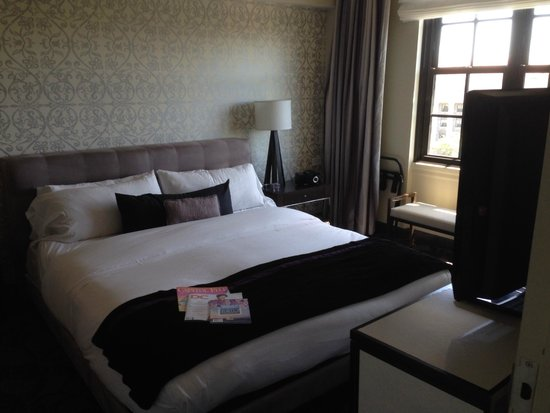 W Washington D.C.: Bedroom area
