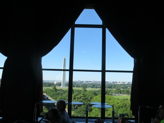 W Washington DC: View from rooftop restaurant