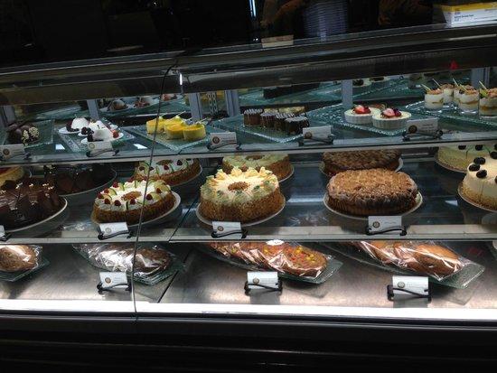 B-Line Diner : Bakery case at the B-Line!