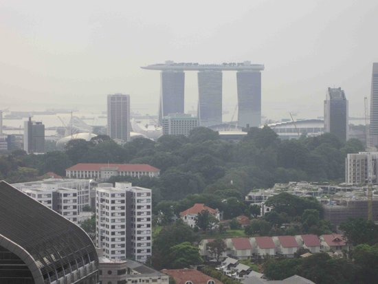 Mandarin Orchard Singapore : This was the view from 37th floor