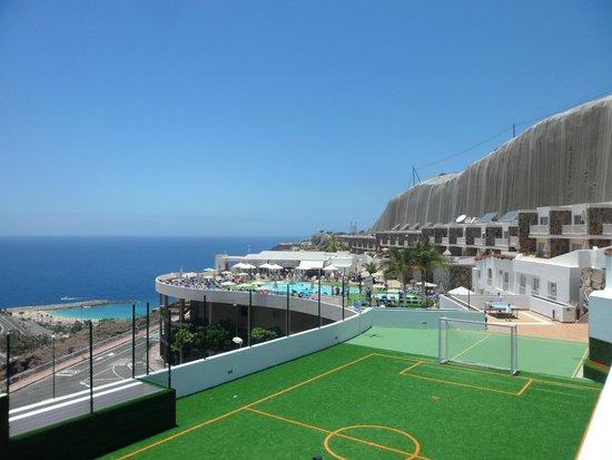 Hotel Altamadores: pool area