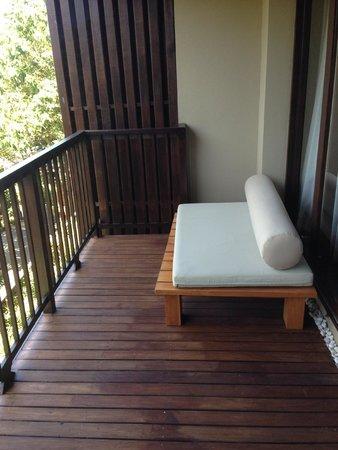Silavadee Pool Spa Resort : テラス