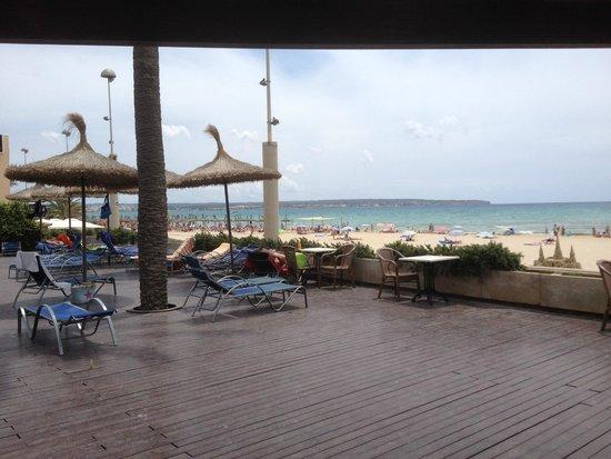 THB El Cid: Hotel El Cid terrace