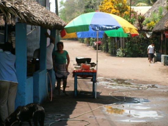 Paredon Surf House: A Tienda eating establishment in the local village. Walking distance.