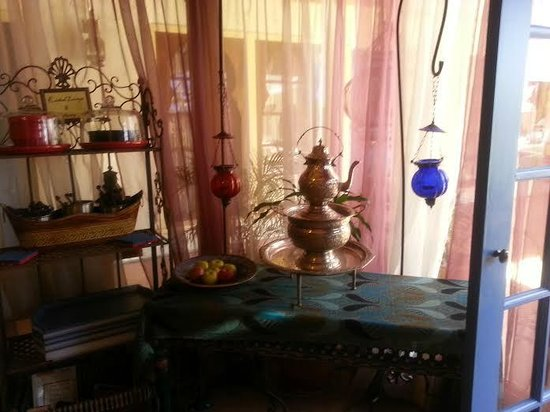 El Morocco Inn & Day Spa: breakfast nook