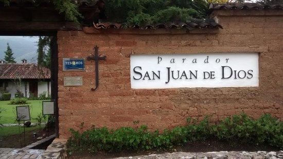 Parador San Juan de Dios: Entrada