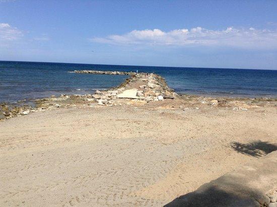 Hotel Moreyo: beach